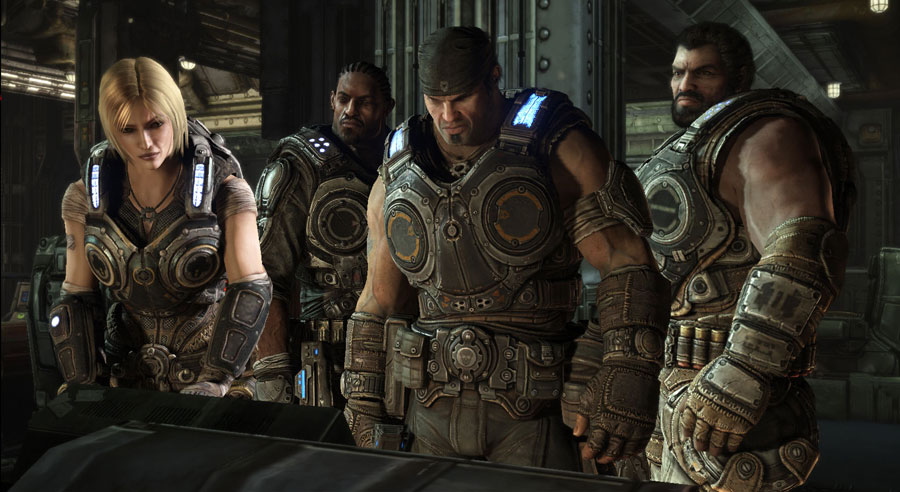 Anya and Gears of War crew