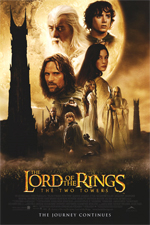 LOTR: The Two Towers movie poster