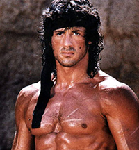 action movie god Sylvester Stallone