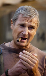 Liam Neeson as Col. John Hannibal Smith in The A-Team