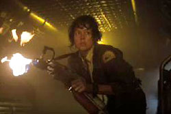 ripley with flamethrower