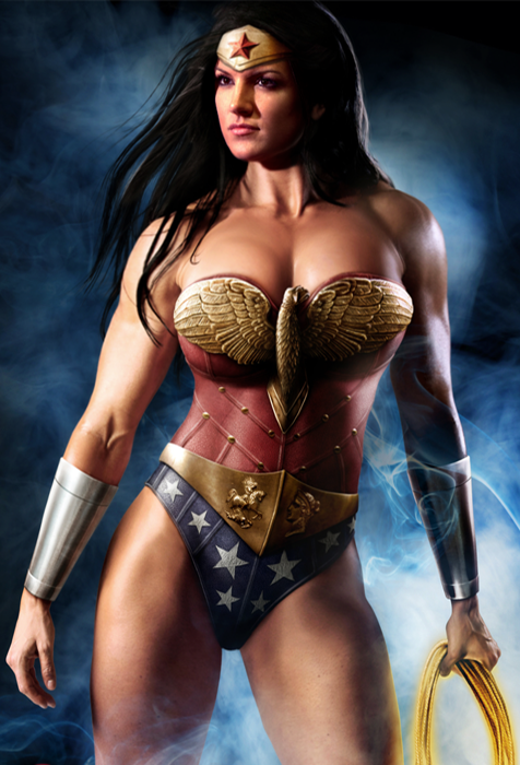 Gina Carano as Wonder Woman