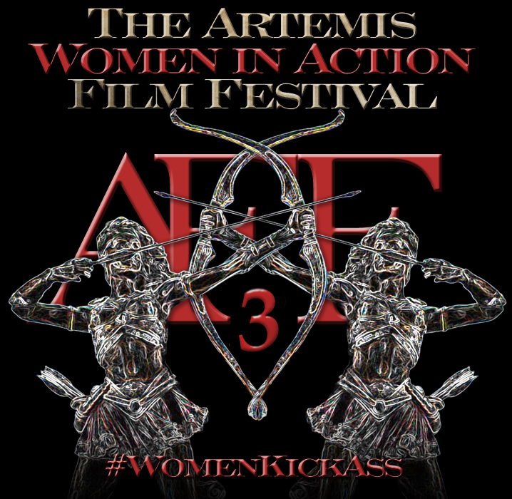 Artemis Women in Action Film Festival logo year 3