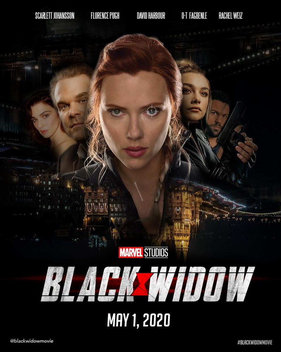 Black Widow 2020 movie poster
