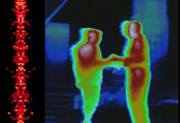 Predator movie voice scanning track with Predator thermal vision