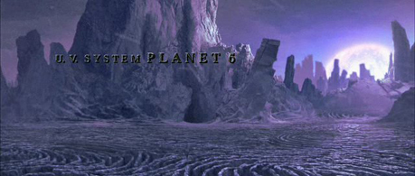 The Chronicles of Riddick, U.V. System Planet 6 landscape