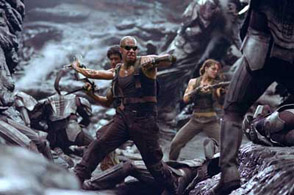 The Chronicles of Riddick, fight scene on Crematoria