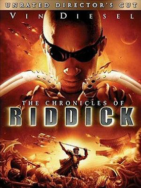 The Chronicles of Riddick Director's cut DVD cover