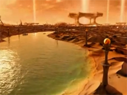 The Chronicles of Riddick movie Helion Prime Planet Landscape