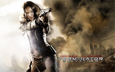 Terminator Salvation Moon Bloodgood as Blair Williams