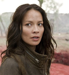 Terminator Salvation Moon Bloodgood as Blair Williams face shot