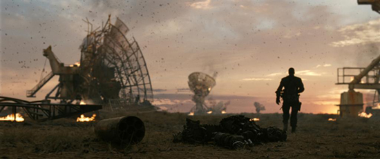 Terminator Salvation battlefield