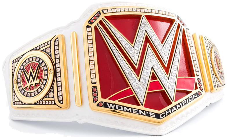 new WWE Women's Champion belt