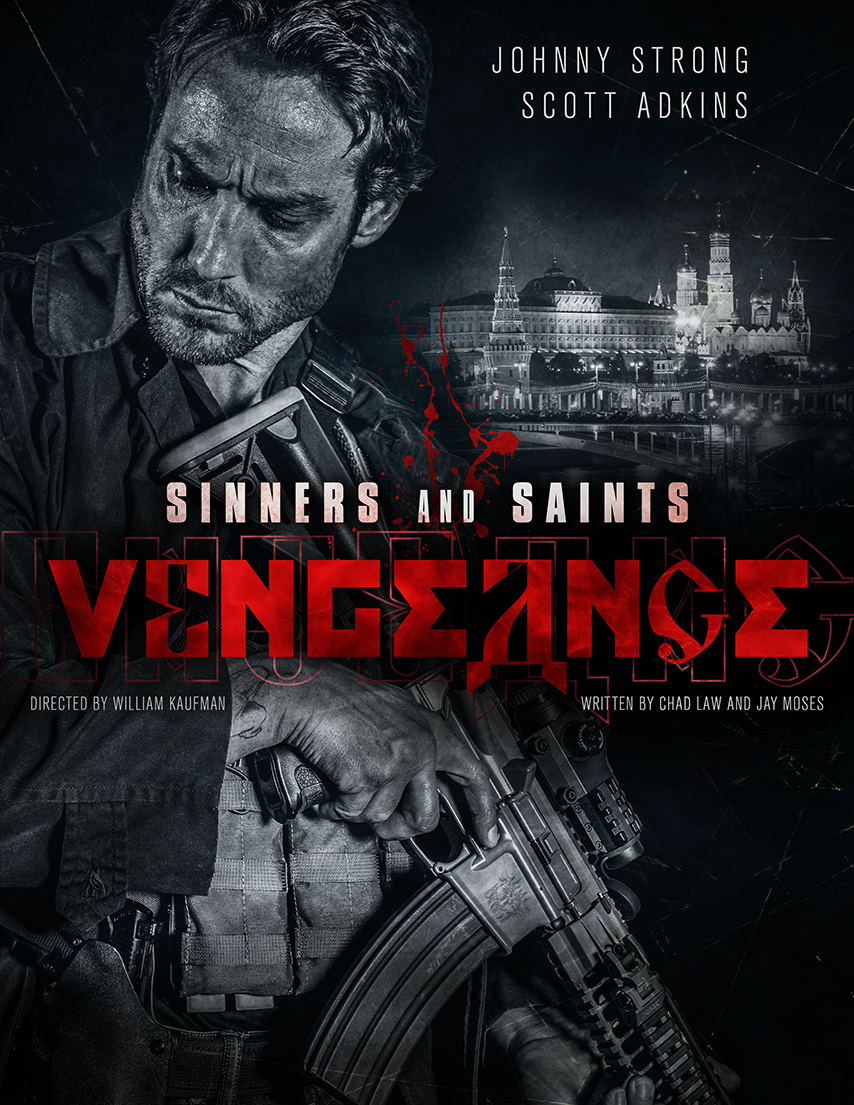 Sinners and Saints: Vengeance action movie poster