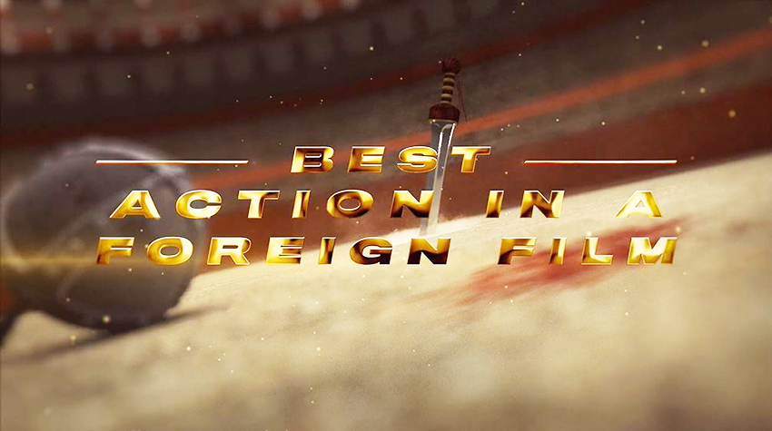Best Action in a Foregin Film placeholder animated clip from 2020 Taurus World Stunt Awards video