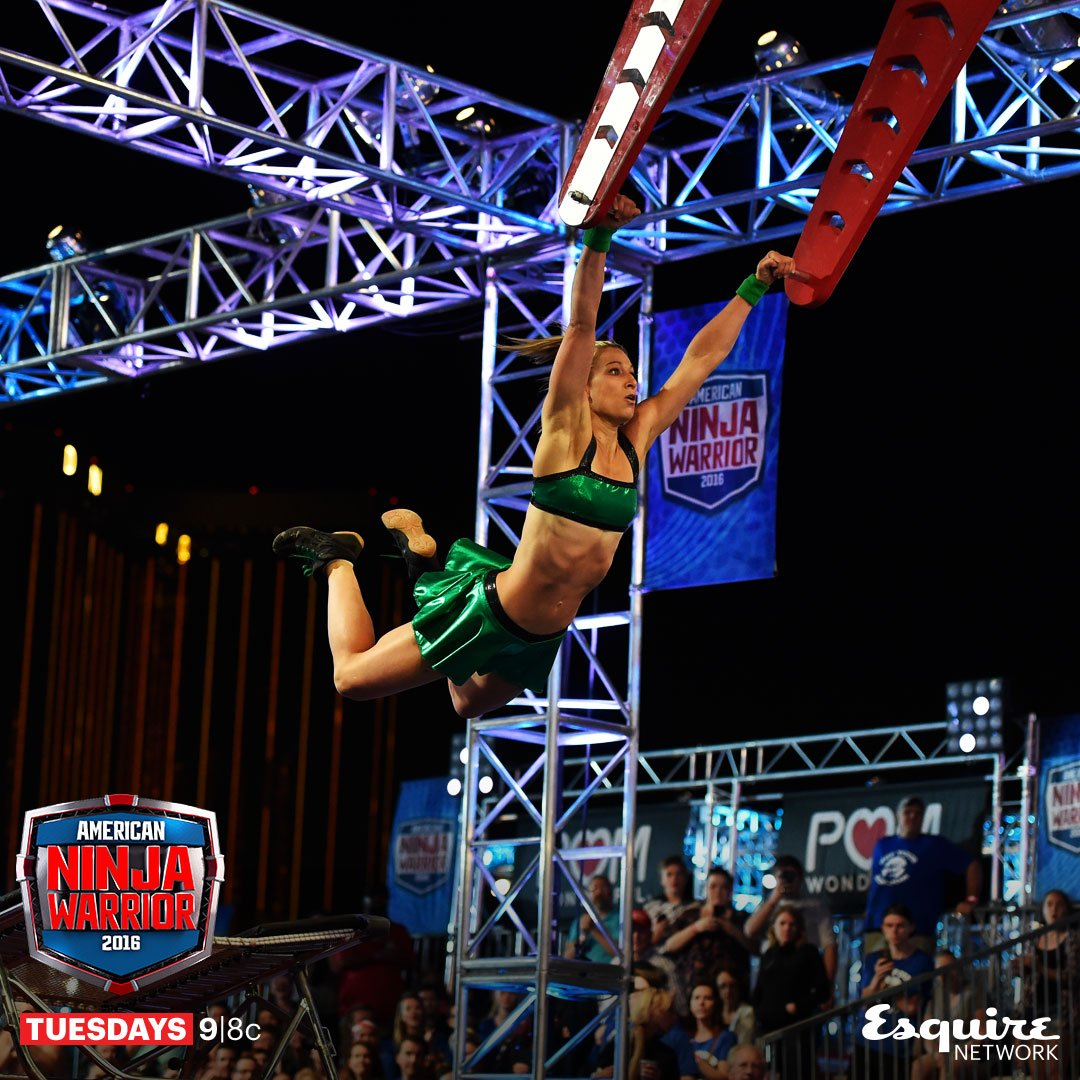 Jessie Graf makes history on American Ninja Warrior