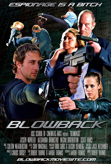 Blowback movie poster