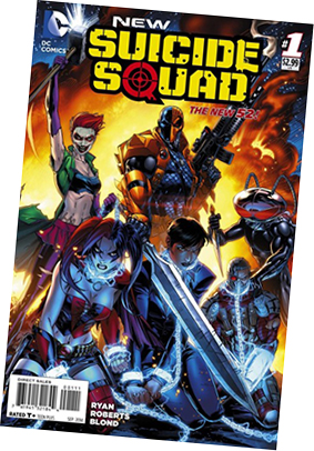 Suicide Squad comic book cover