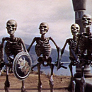 Jason and The Argonauts creature-armed skeletons