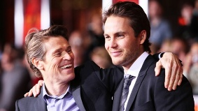 Willem Dafoe and Taylor Kitsch