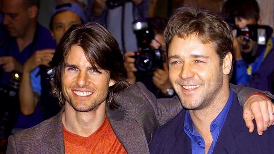 Tom Cruise and Russell Crowe