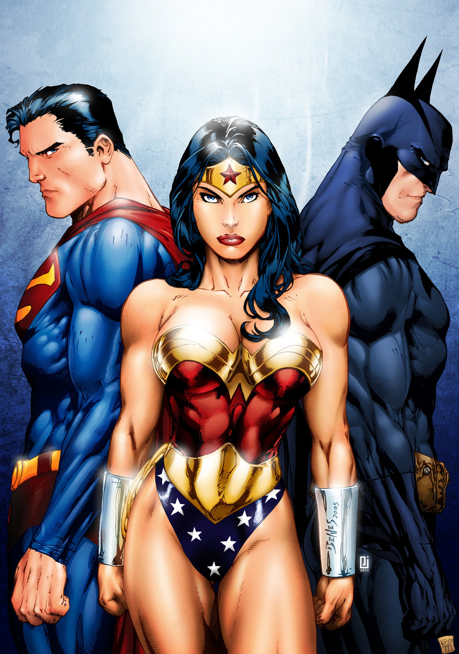 Superman Wonder Woman Batman