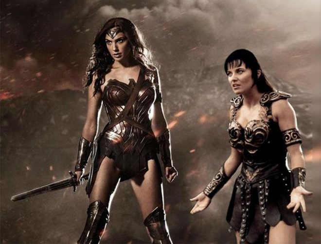 Wonder Woman costume looks like Xena